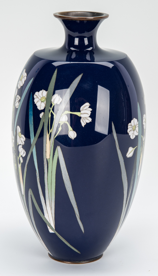 Lot 329: Japanese Cloisonne Vase
