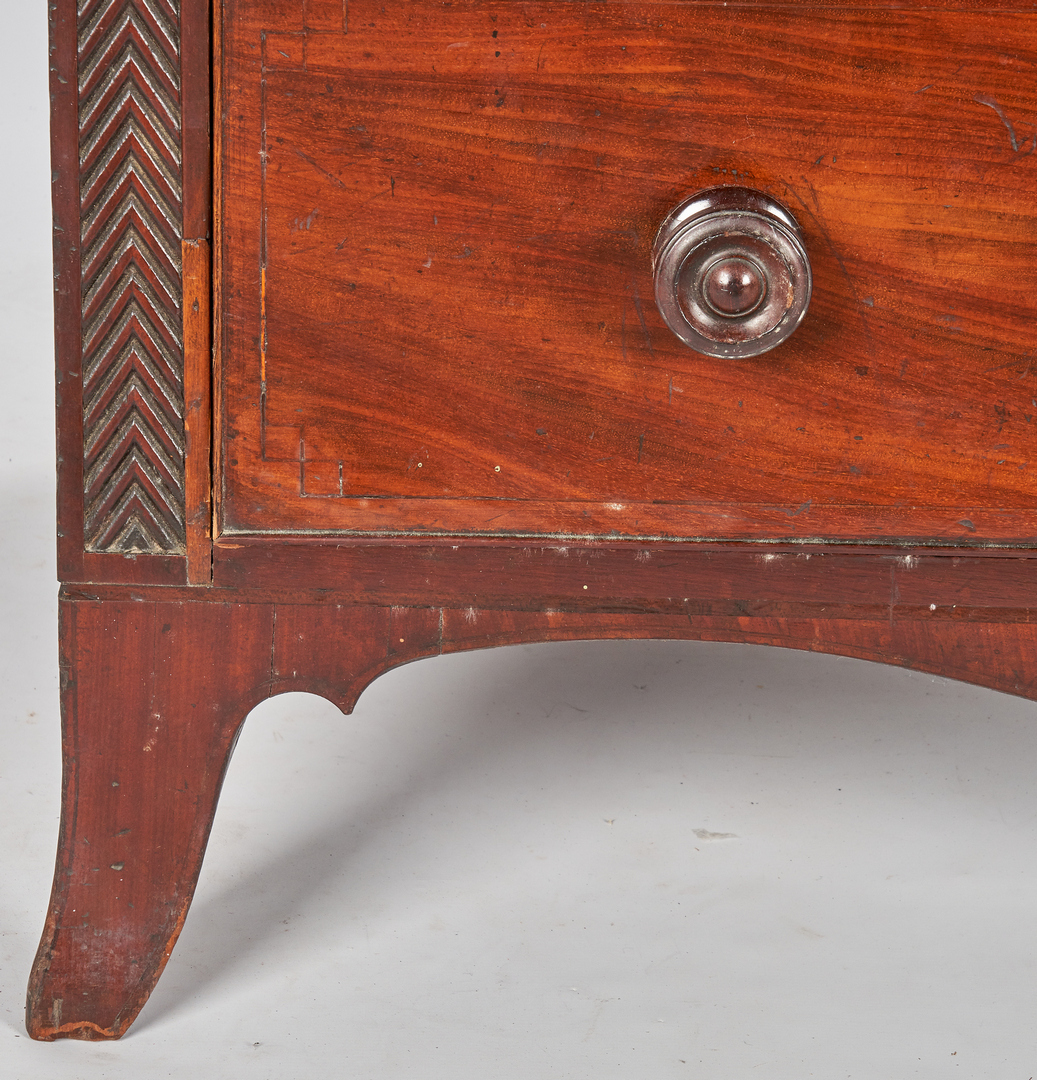 Lot 349: Regency Mahogany Cylinder Desk