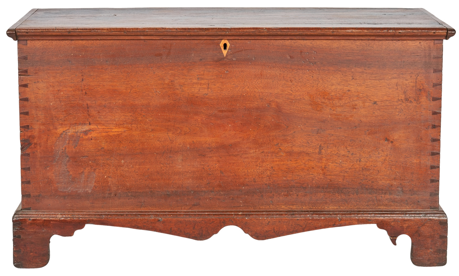 Lot 360: Early Inlaid Blanket Chest, Poss. TN