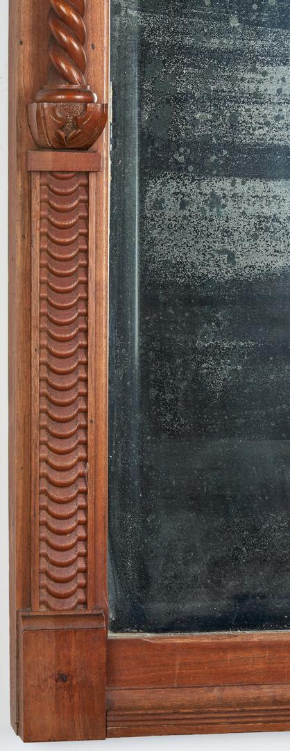 Lot 367: East TN Sheraton Mirror, attrib. to Jacob Fisher