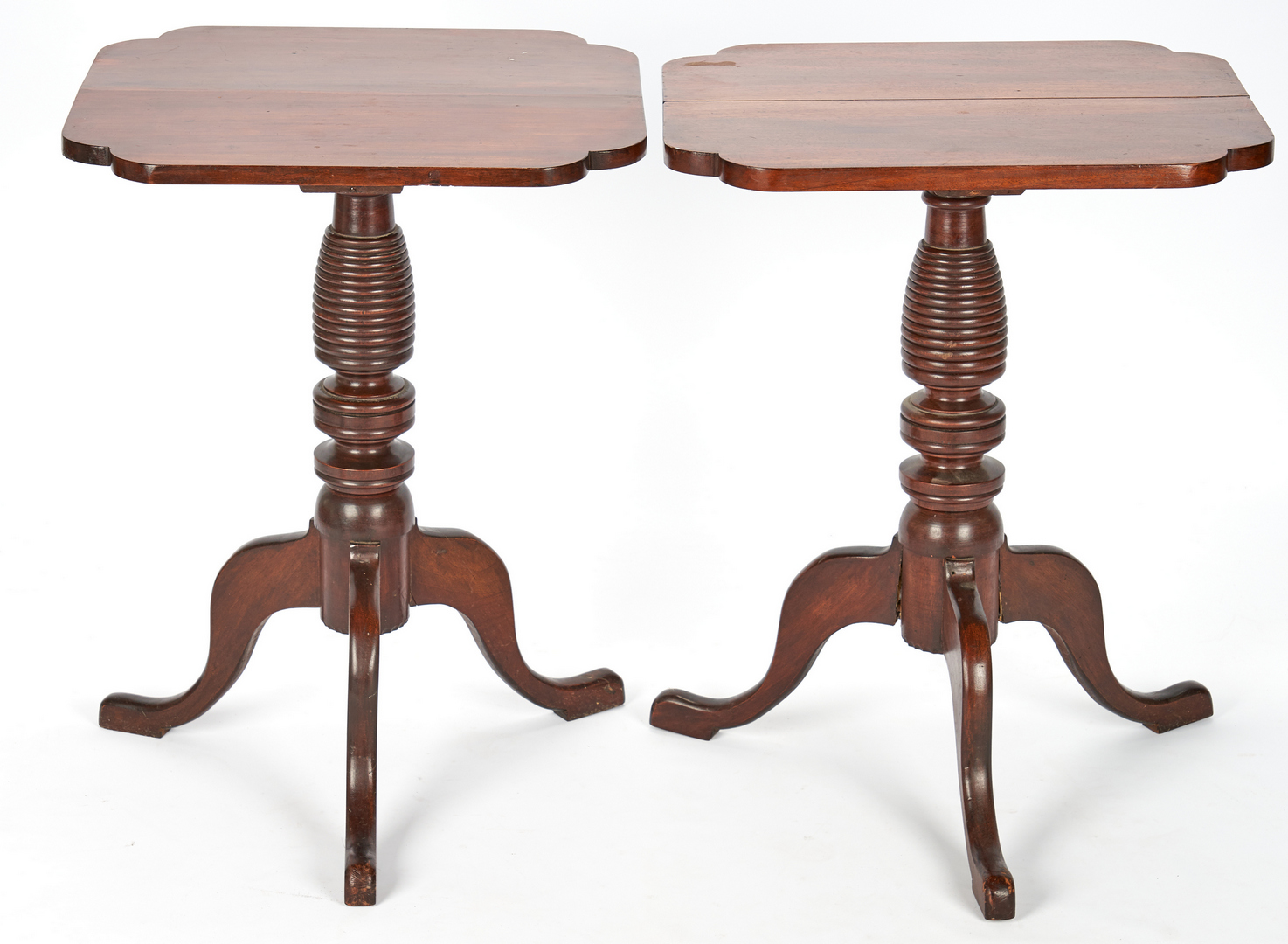 Lot 369: Pair of Candlestands, poss. Kentucky