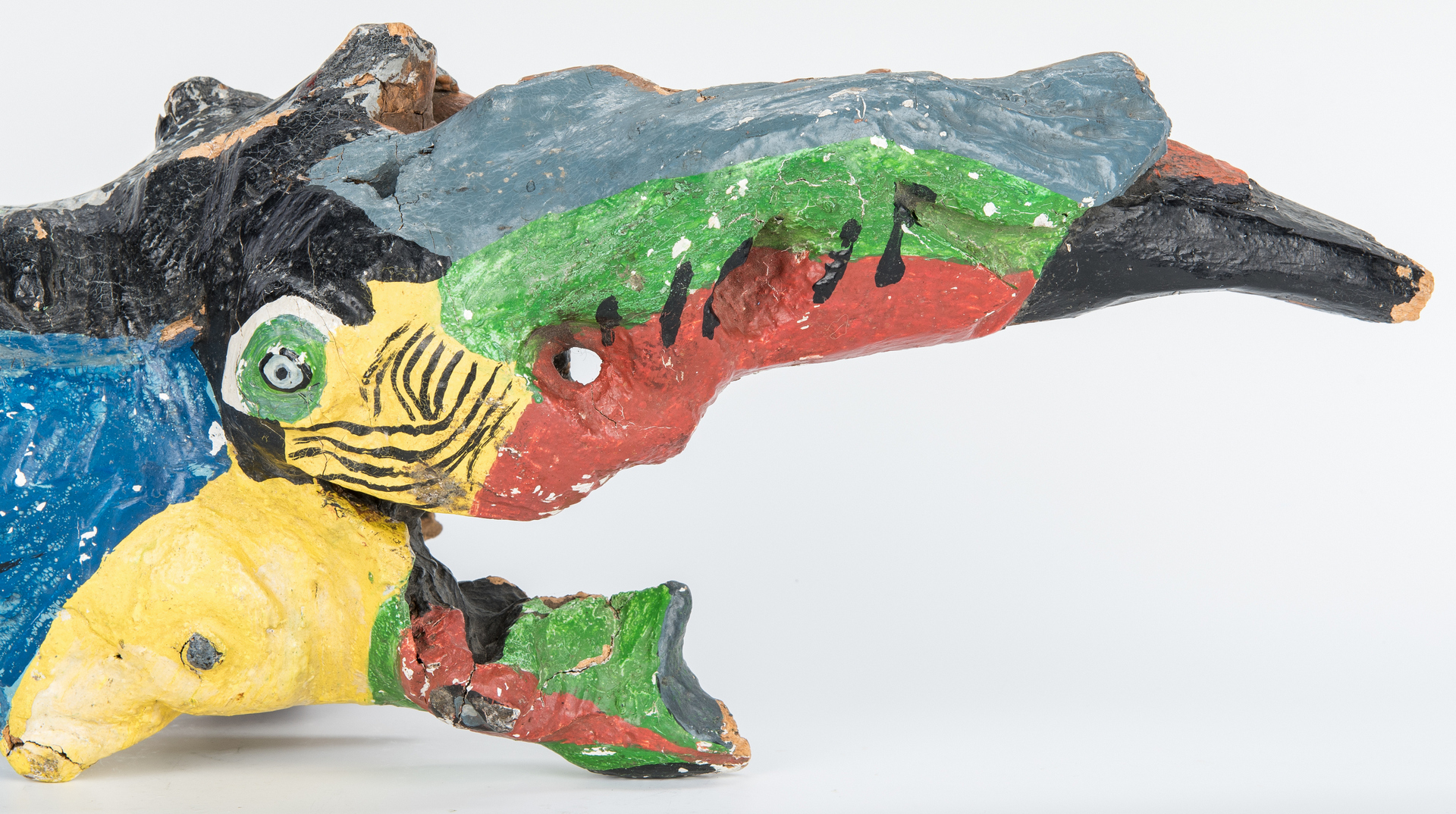 Lot 386: TN Folk Art Sculpture by Bessie Harvey