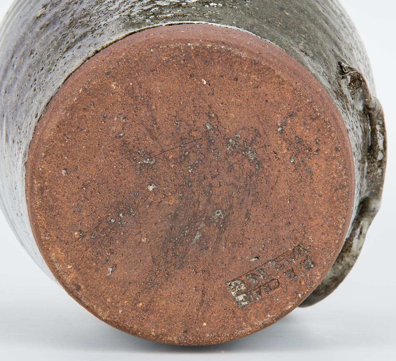 Lot 395: 3 NC Burlon Craig Folk Pottery Jugs
