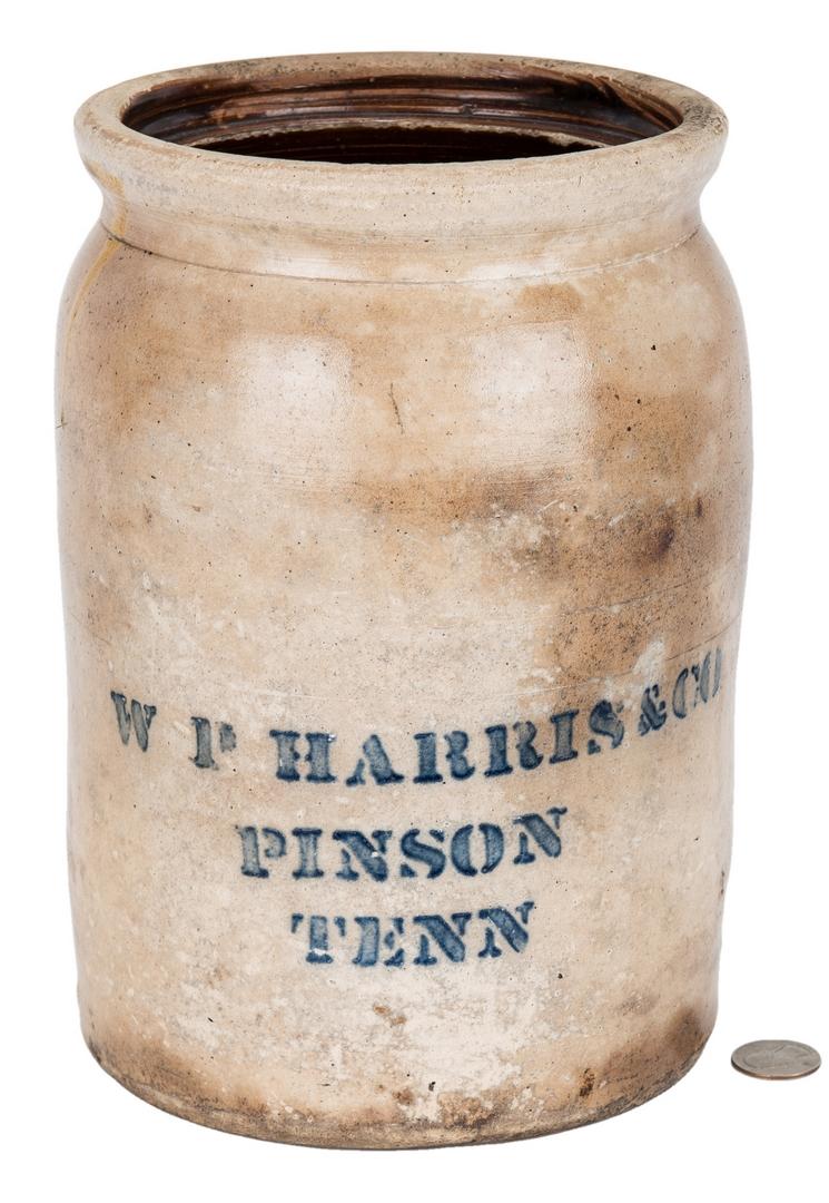 Lot 406: West TN Pinson Pottery Jar
