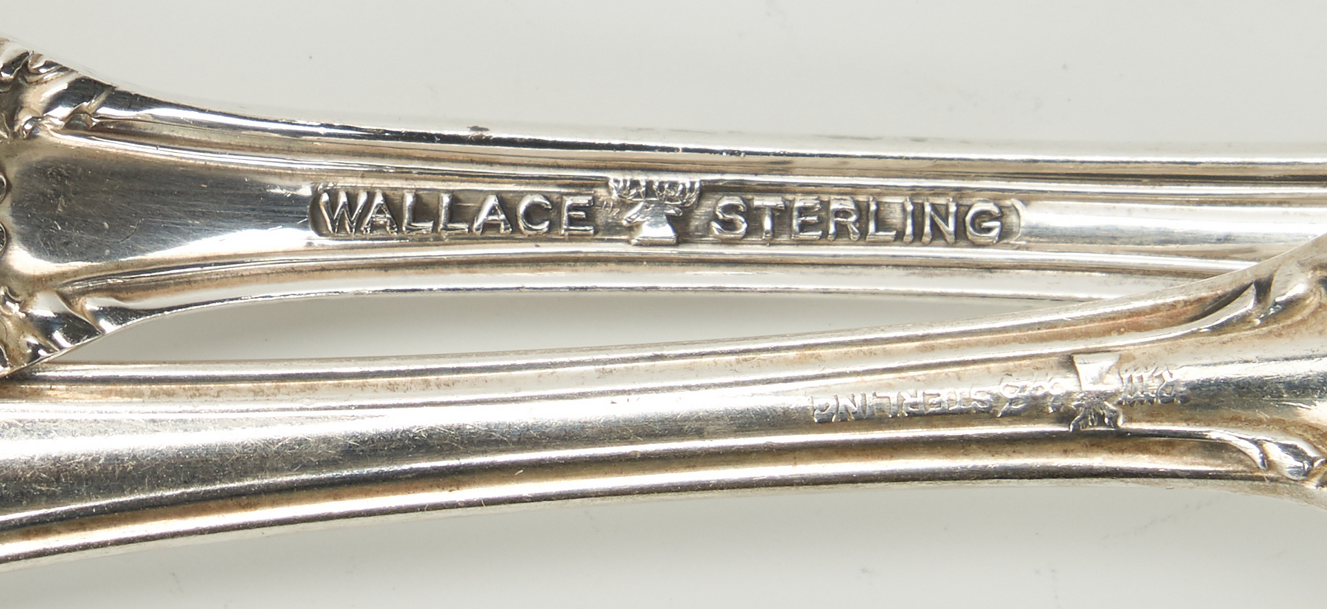 Lot 428: 86 Pcs Lucerne Sterling Flatware