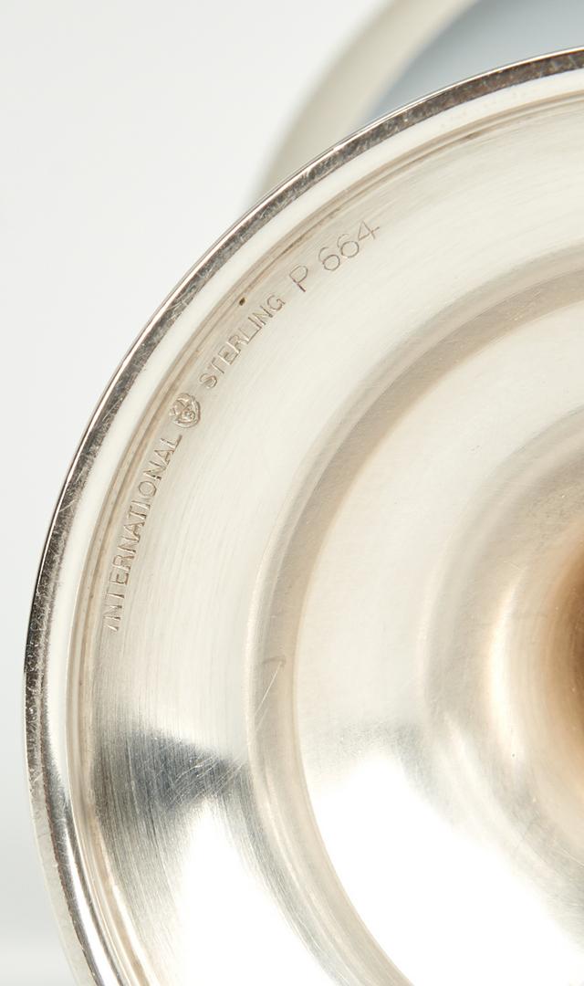 Lot 431: 12 International Lord Saybrook Sterling Goblets