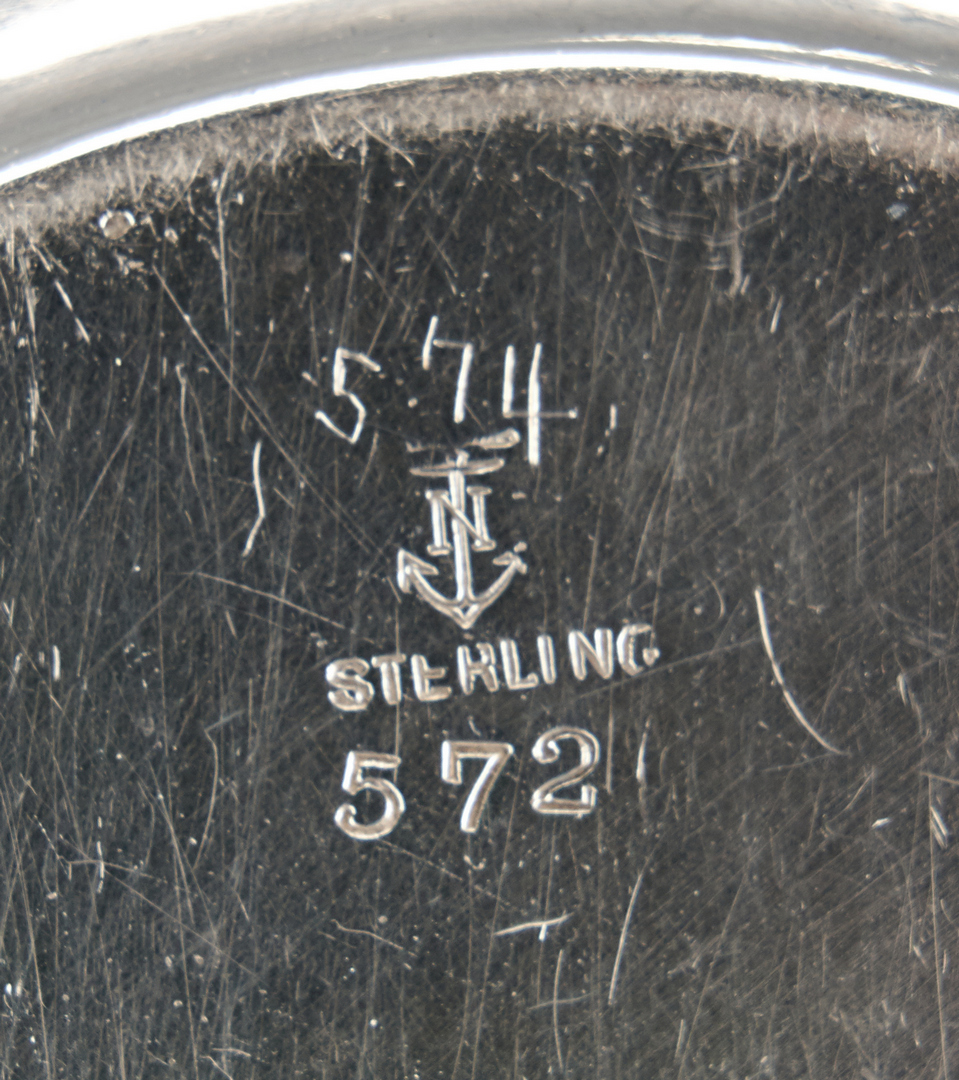 Lot 437: 41 Pcs. Asst. Sterling Silver Holloware