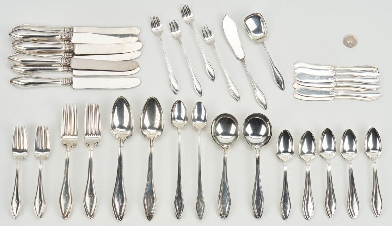 """Towle Sterling Silver MARY CHILTON 1912 Dessert Luncheon Fork 7-1//4/"""""""