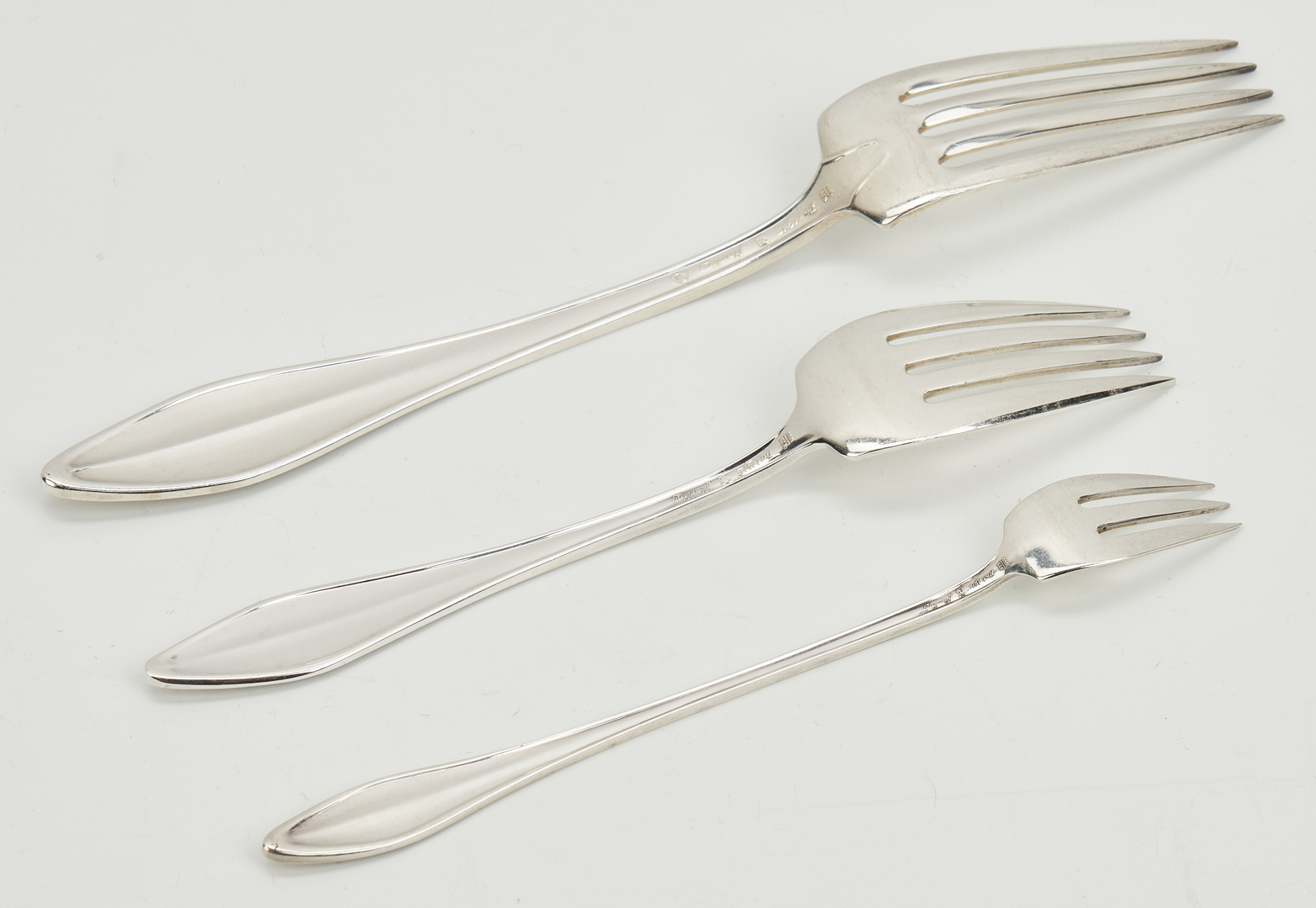 Lot 439: 80 pieces of Towle Sterling Flatware