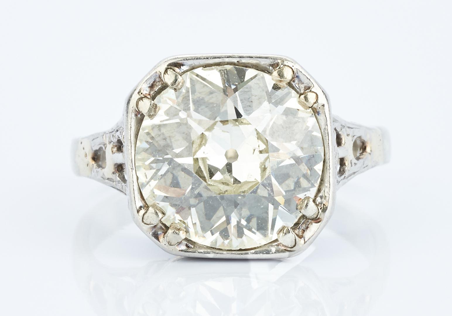 Lot 43: 5.2 CTW Old European Brilliant Diamond, GIA