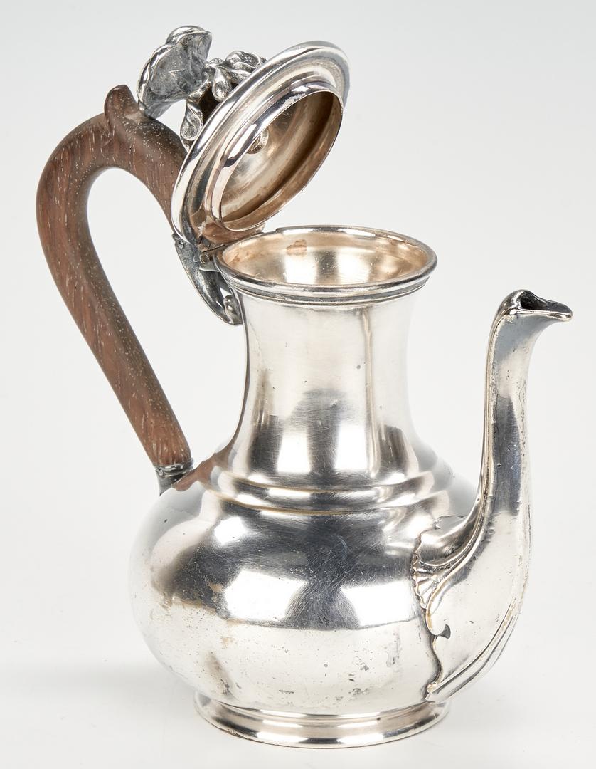Lot 443: 5 pcs. French Silver incl. Biennais, Christofle
