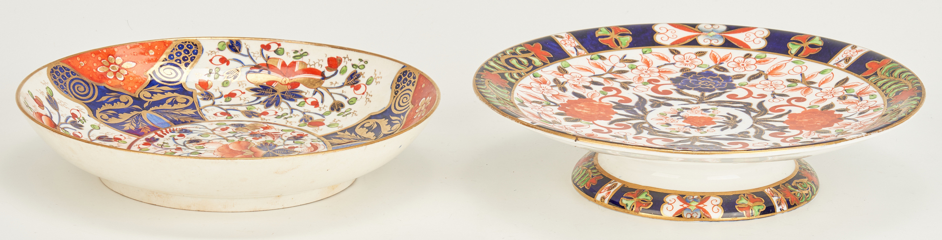 Lot 456: 19 Pcs. English Royal Crown Derby Porcelain