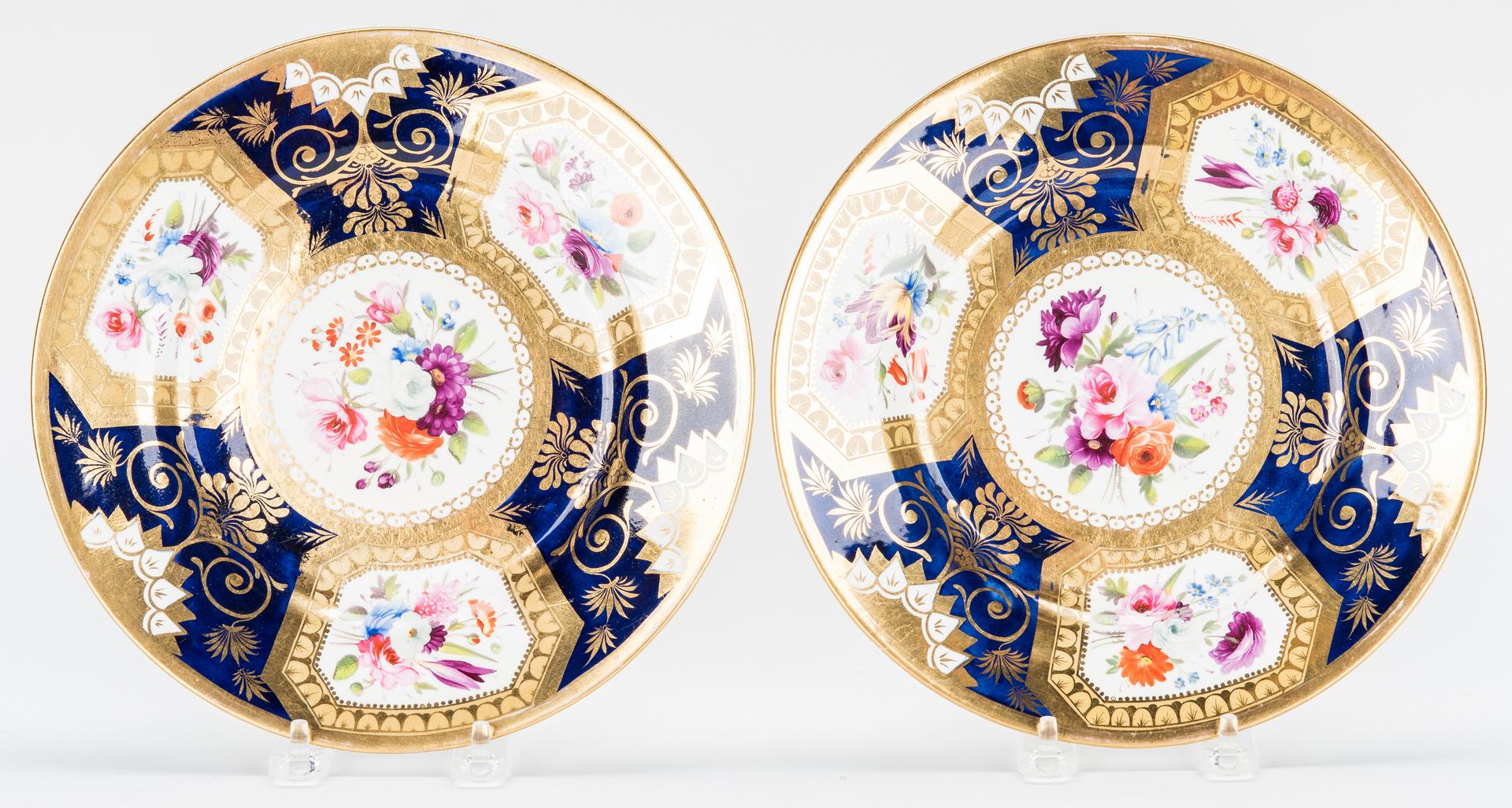 Lot 458: Assembled Group of Royal Worcester Porcelain, incl. Tea Service, 44 pcs.