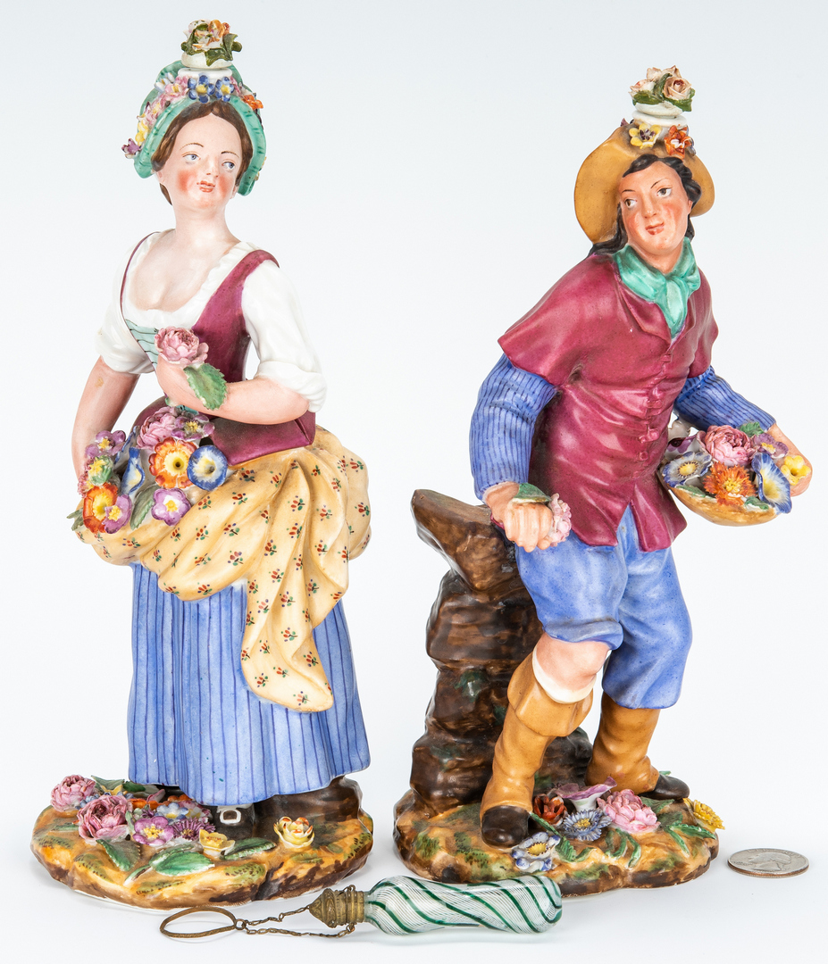 Lot 463: 3 Perfume Bottles, incl. Figural attr. Jacob Petit