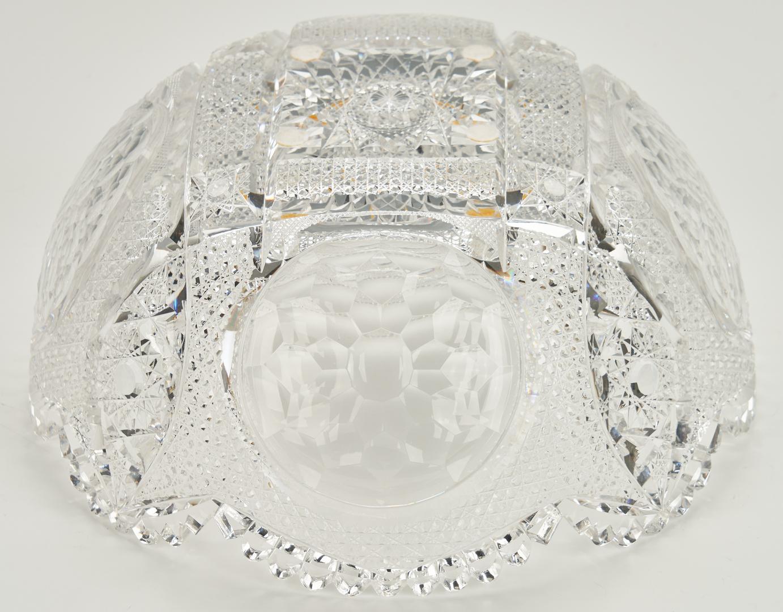 Lot 468: 2 Cut Glass Bowls incl. Hawkes signed