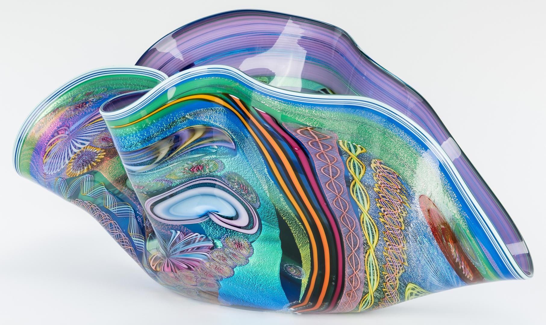 Lot 489:  Nowak Studio Art Glass Vase