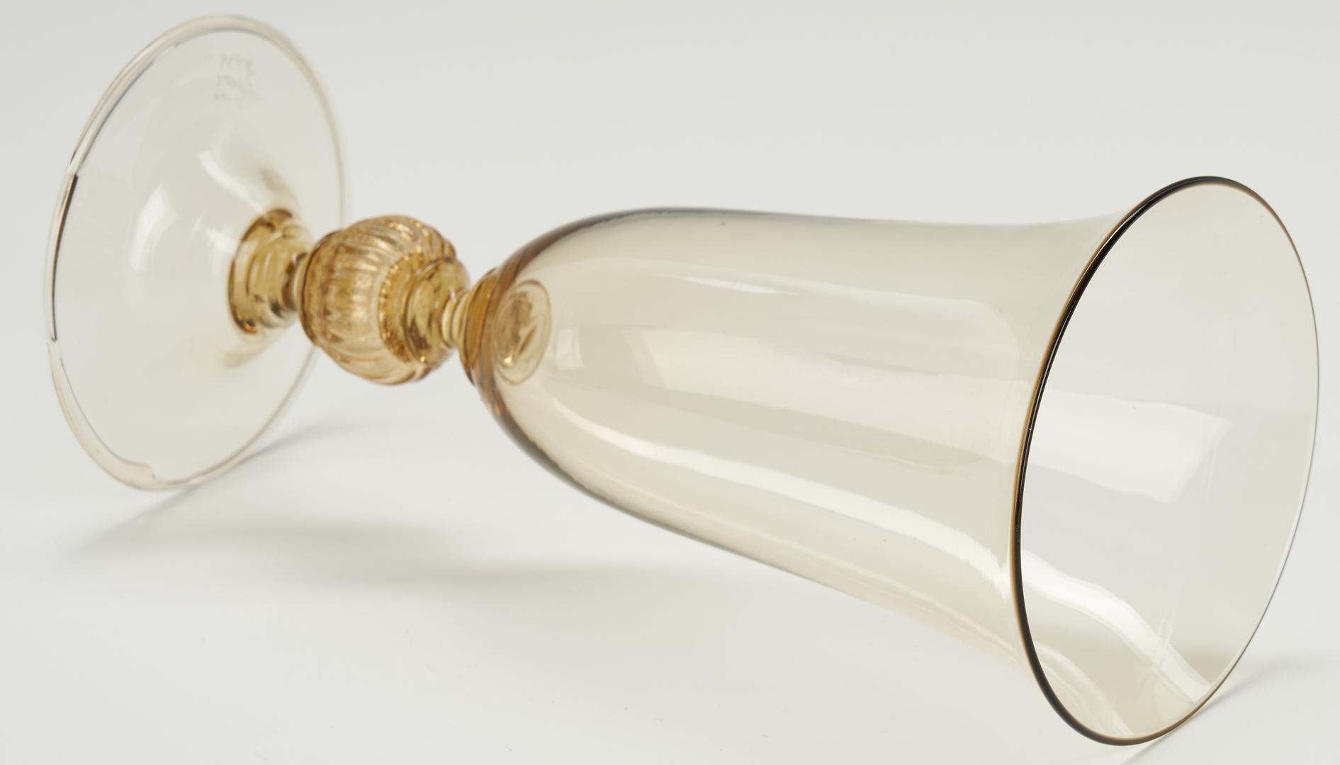 Lot 490: 2 Venini Art Glass Items, Vittorio Zecchin