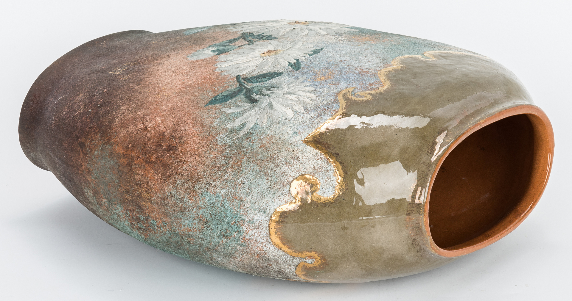 Lot 494: Matt Morgan Art Pottery Co. Vase