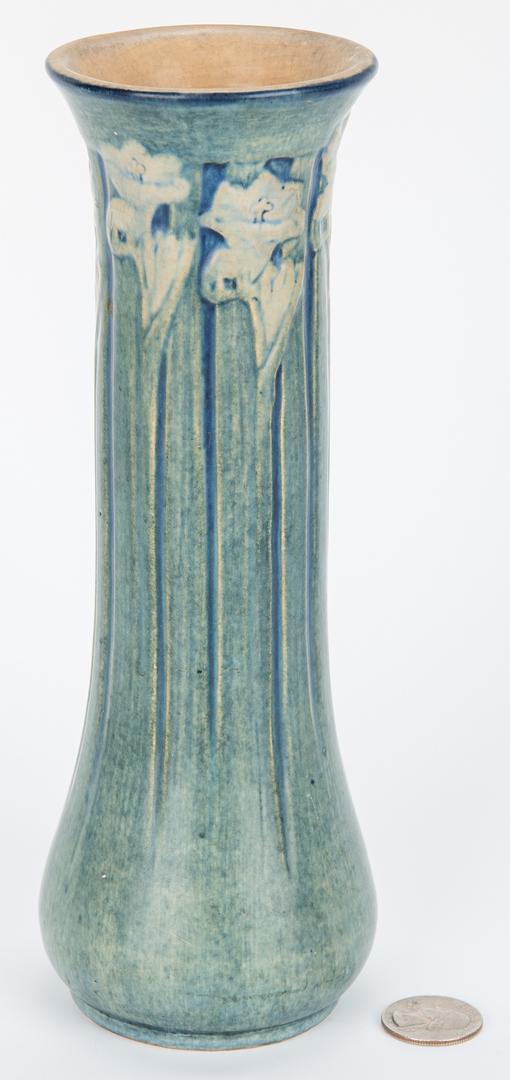 Lot 495: Newcomb College Vase, Anna Francis Simpson Artist