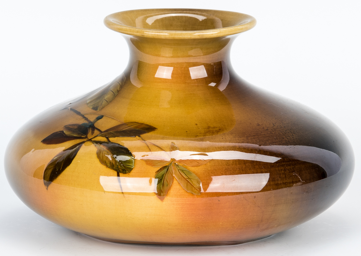 Lot 497: 2 Rookwood Artist Signed Art Pottery Vases