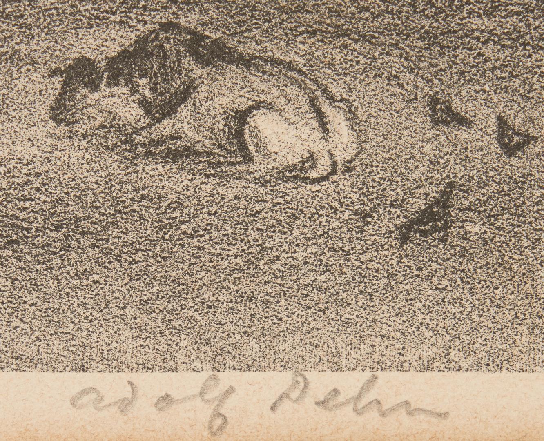 Lot 521: J.E. Costigan Etching and  A.A. Dehn Litho