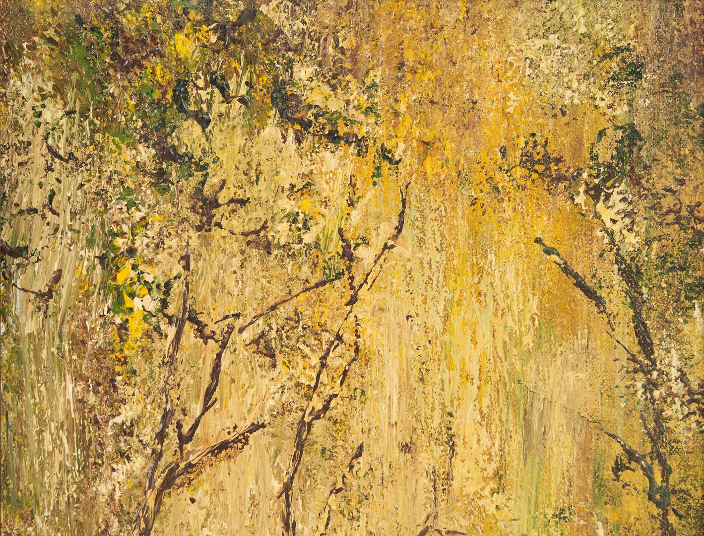 Lot 528: John T. Bauscher, Kentucky Oil Impressionist Landscape