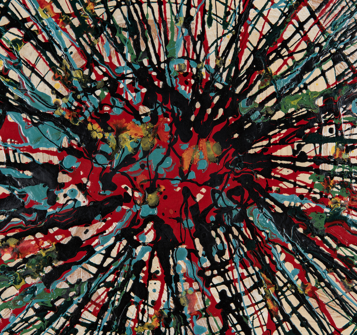 Lot 530: Robert Witherspoon O/B Abstract Painting