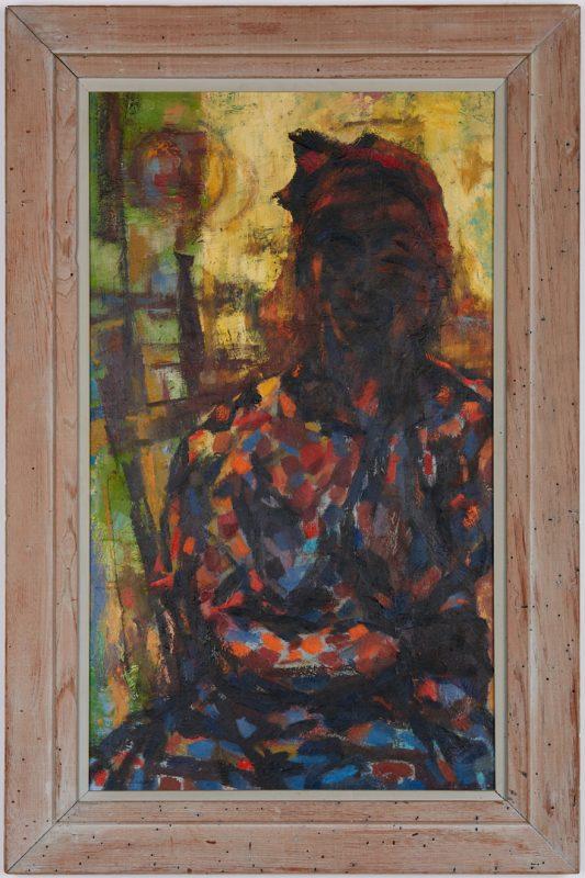 Lot 534: Charles Kermit Ewing O/C, Jamaica Girl