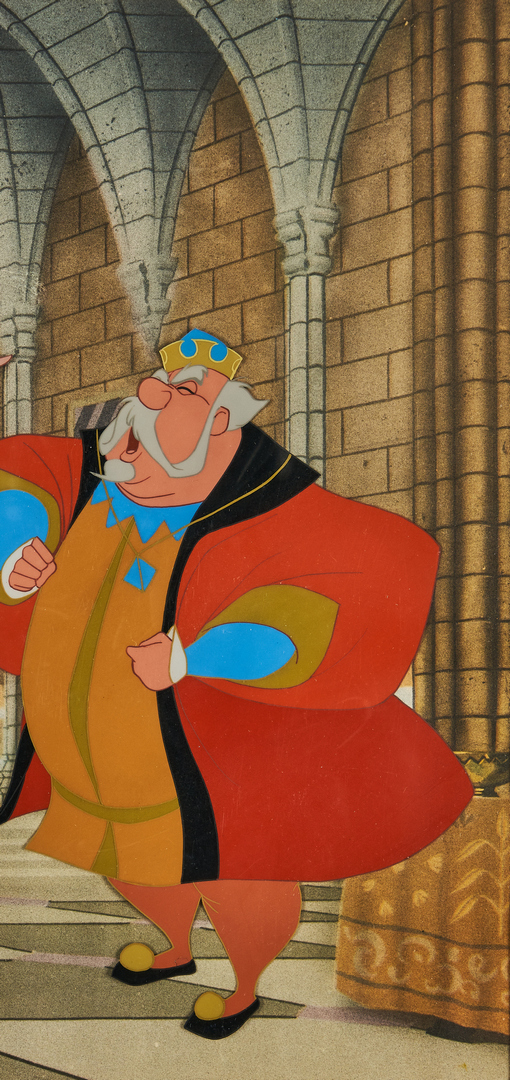 Lot 561: 2 Sleeping Beauty Animation Cels, Art Corner