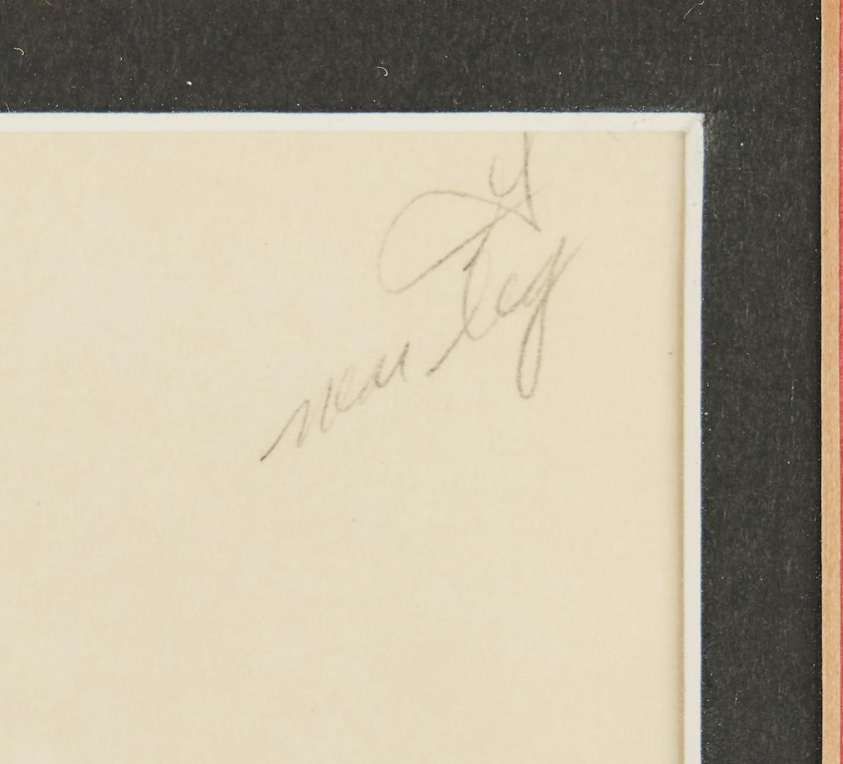 Lot 562: 2 Disney Drawings inc. Clair Weeks signed