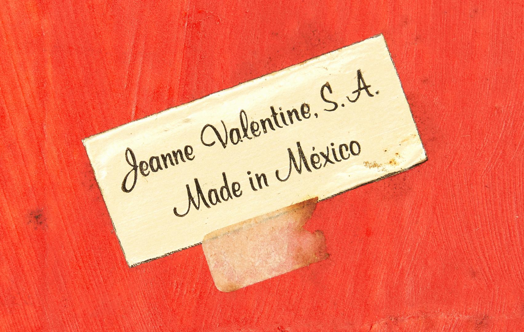 Lot 567: Jeanne Valentine Papier Mache Mariachi Band, 5 pcs.