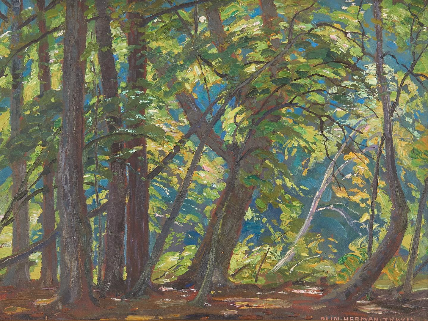 Lot 571: Olin Herman Travis O/B Landscape