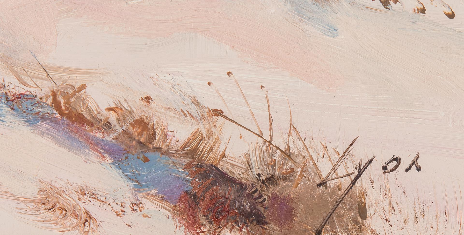 Lot 572: 2 Harold Lyon Western Oil Paintings