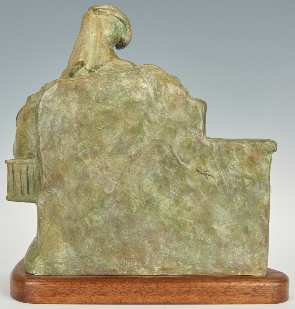 "Lot 578: Martha Pettigrew Bronze ""Melons"""