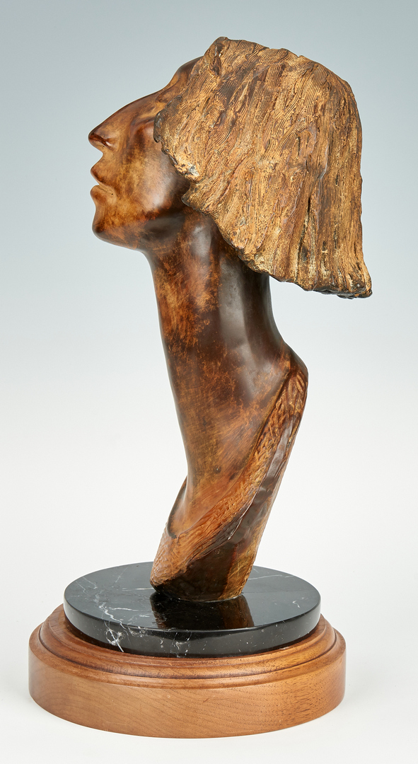 Lot 580: Shirley Thomson Smith Bronze Bust
