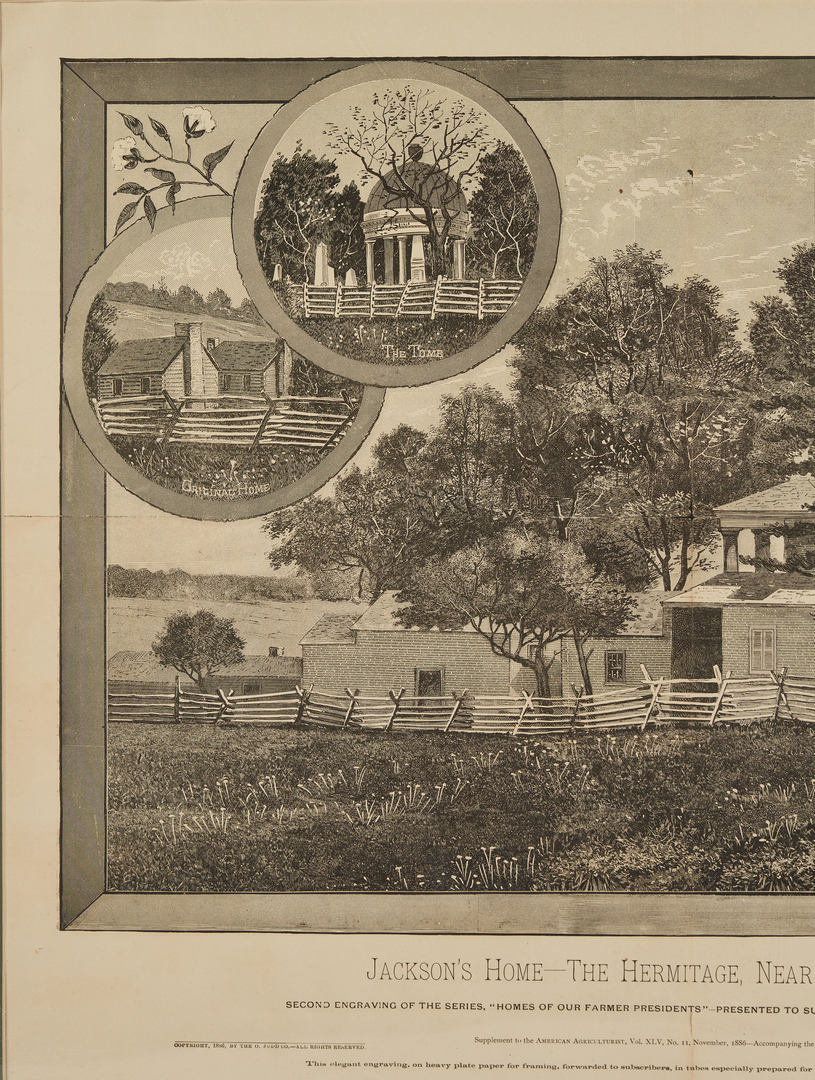 Lot 600: 5 Andrew Jackson and Battle of New Orleans Related Prints