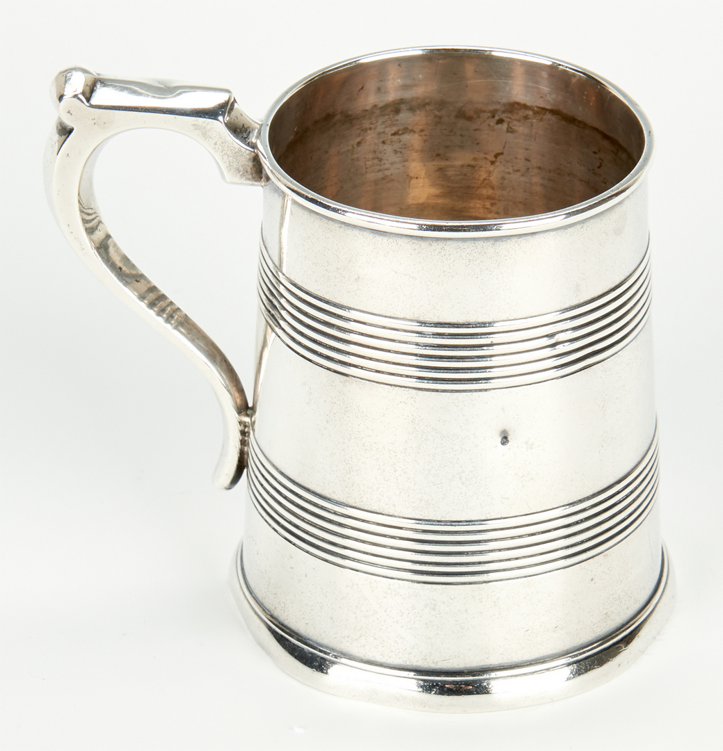 Lot 60: Coin Silver Goblet and Mug, inc. KY