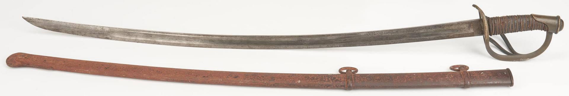 Lot 610: Civil War M1840 Sword, Capt. Richard Myers, KY