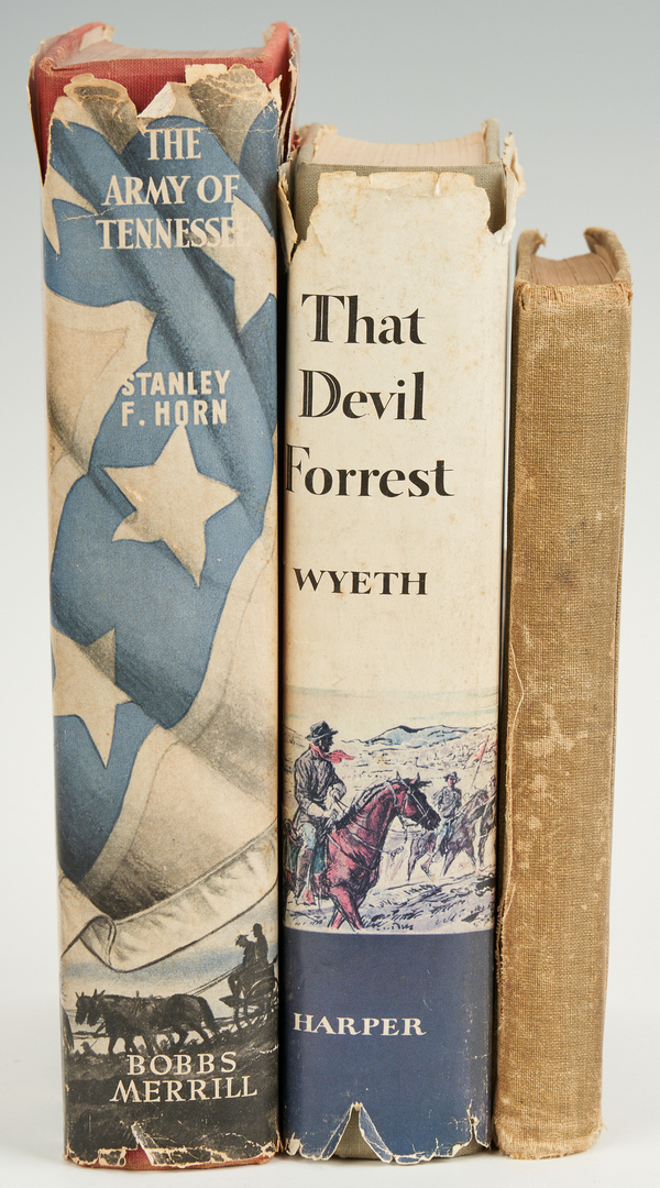 Lot 624: 3 Civil War Books, incl. Henry County Command