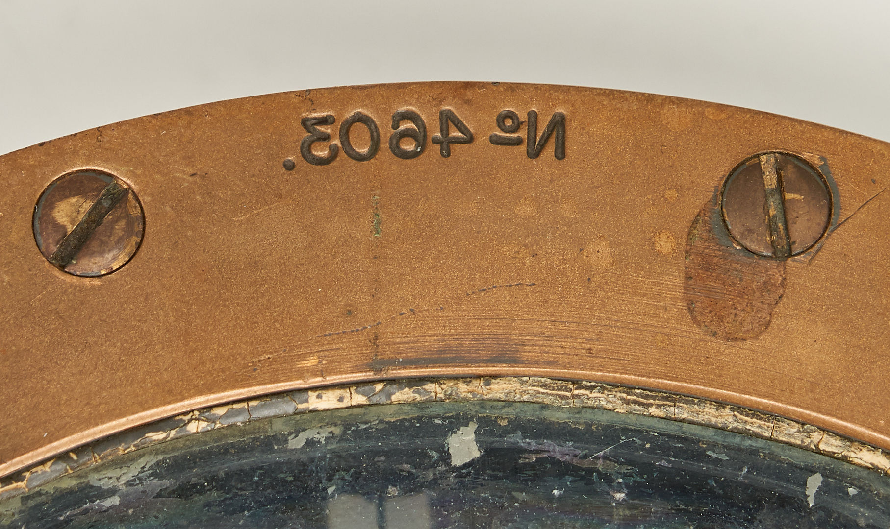 Lot 628: 2 Ship Hull Models and a Compass