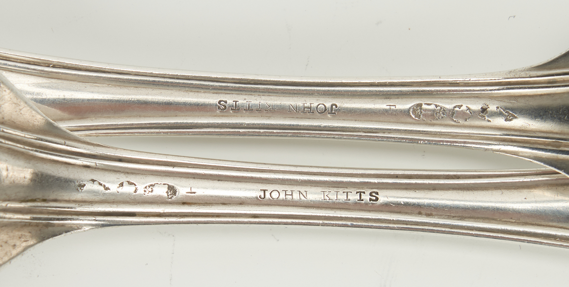Lot 62: 35 pcs Kitts KY Coin Silver Flatware
