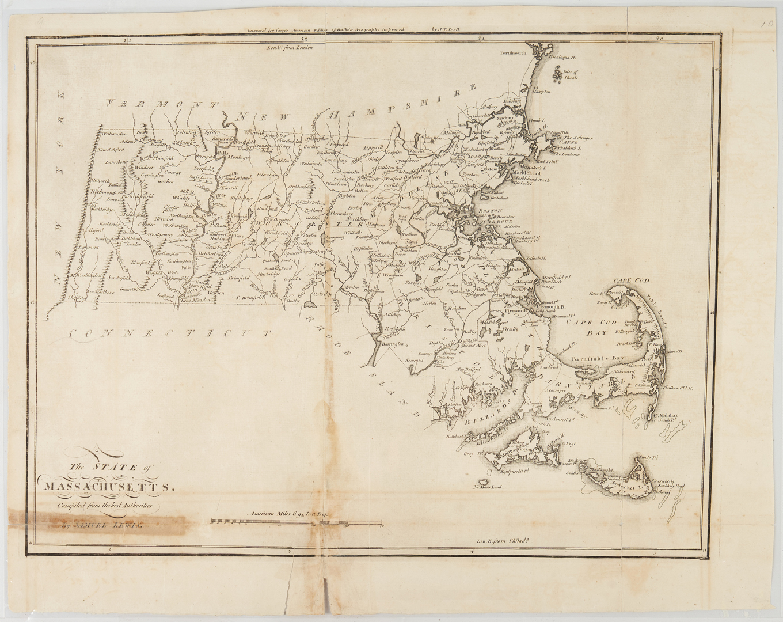 Lot 630: 5 American Maps c. 1795: Carey, Lewis