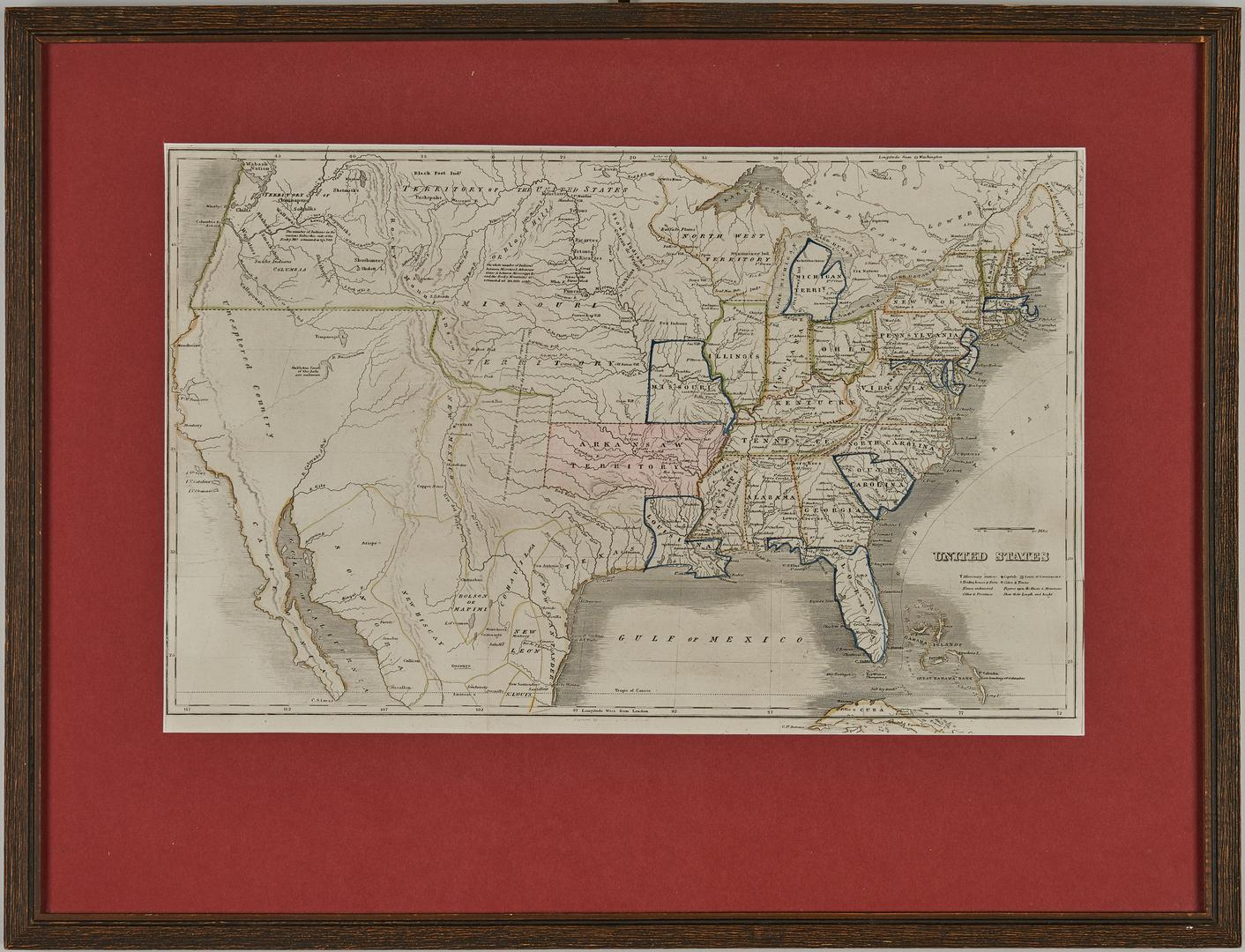 Lot 634: 1825 Butler Atlas incl. San Francisco