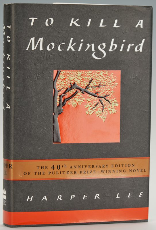 Lot 636: Signed Copy of To Kill A Mockingbird