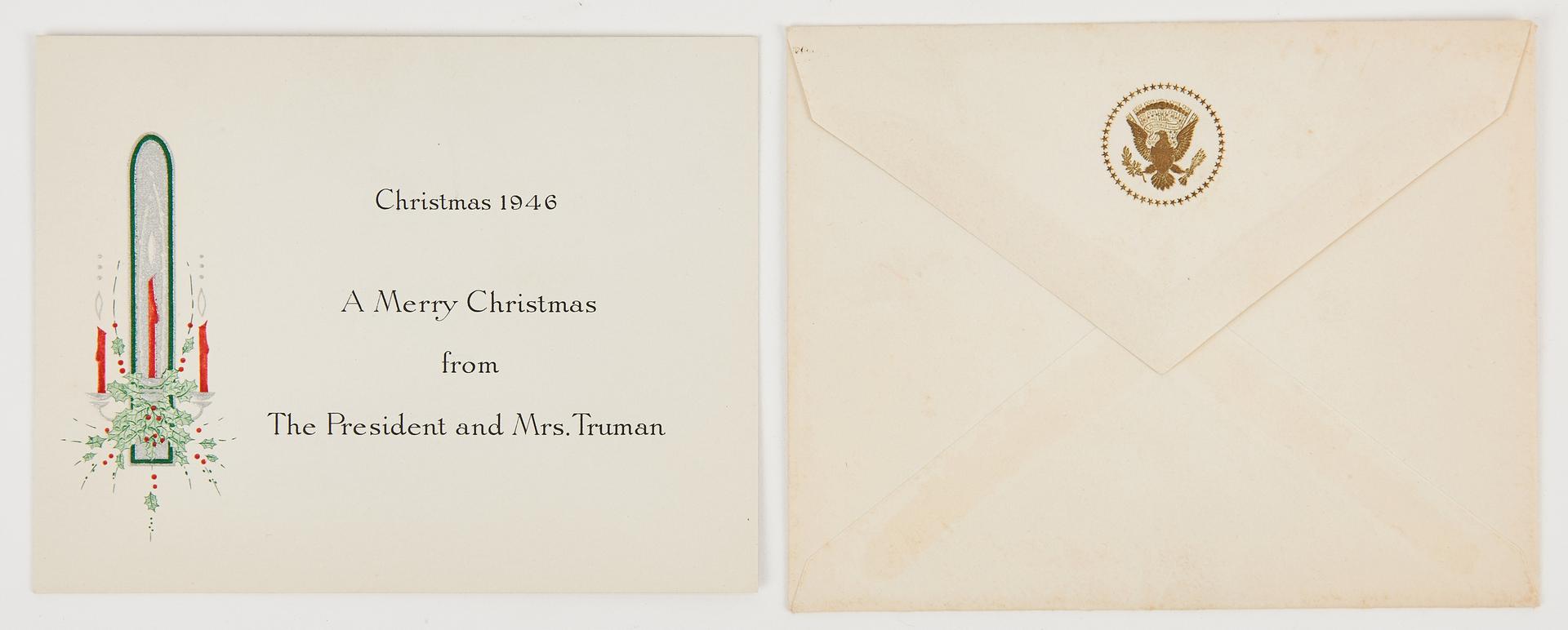 Lot 640: 14 Roosevelt/Truman Admin. Items, incl. Signed Photos