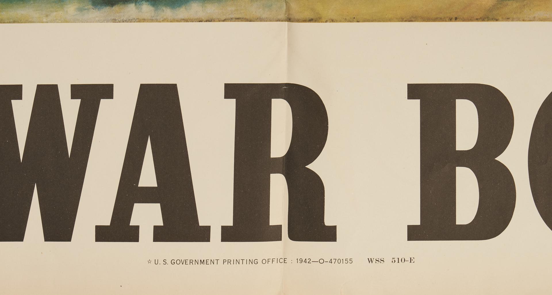Lot 641: WWII U. S. Propaganda Poster, Uncle Sam