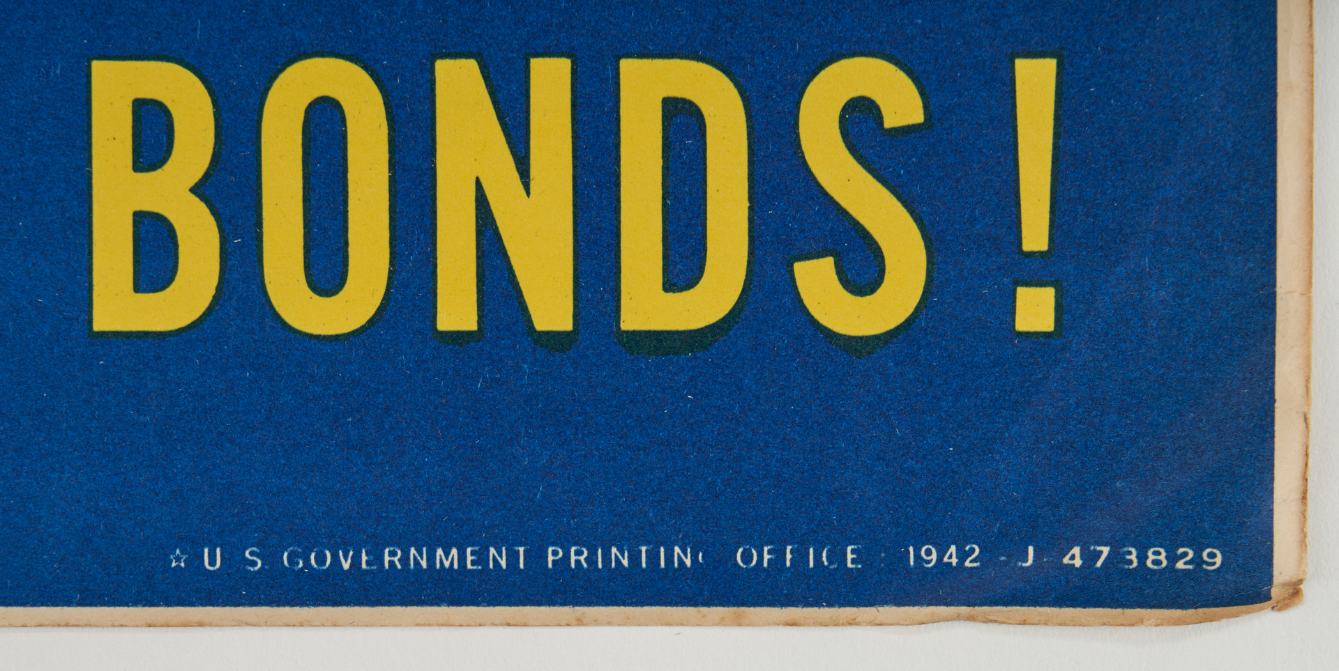 Lot 644: 3 U. S. World War II War Bonds Posters