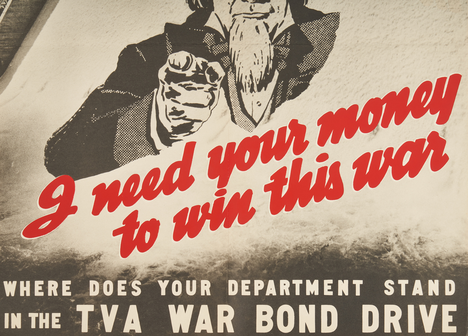 Lot 645: 3 World War II TVA  Propaganda Posters