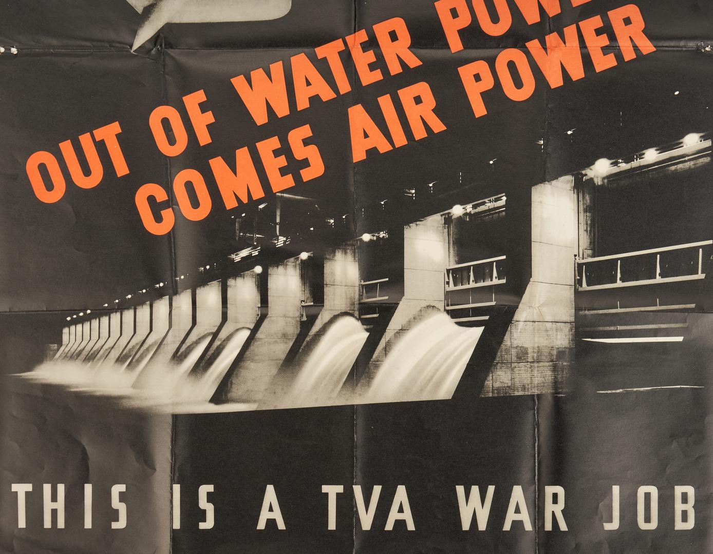 Lot 646: 2 World War II TVA Propaganda Posters