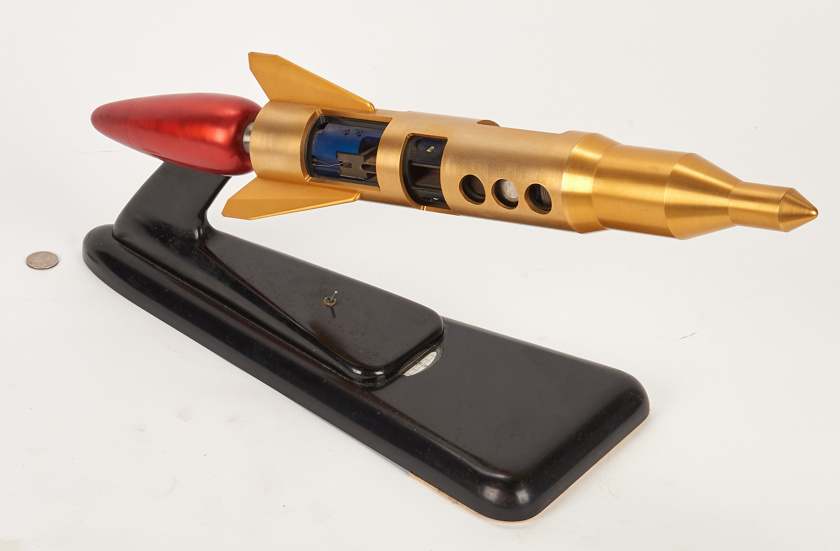 Lot 649: Early MSFC Model Rocket w/ Motor